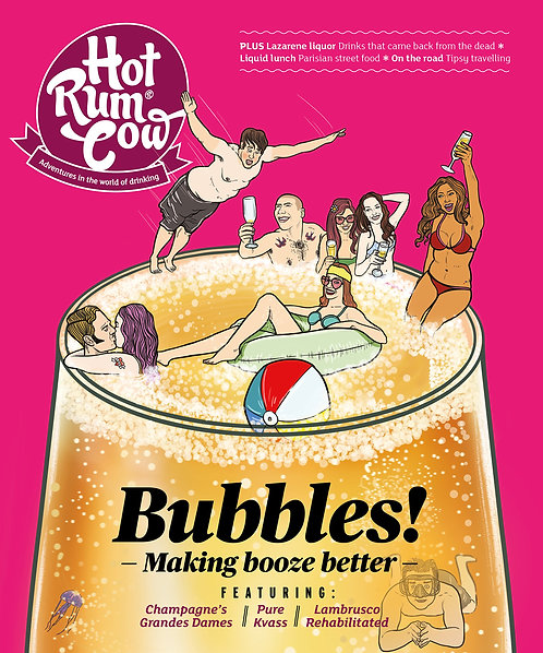 Hot Rum Cow Issue 12. Bubbles