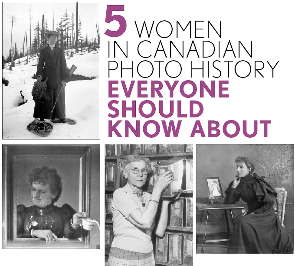 Women in Canadian photo history