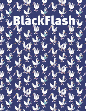 BlackFlash Magazine is a platform for contemporary visual art from a distinct prairie perspective.   In print 3x/ year.   SUBSCRIBE to get BlackFlash delivered to your door!   Get 20% off subscriptions at checkout using promo code:  AKIMBO20