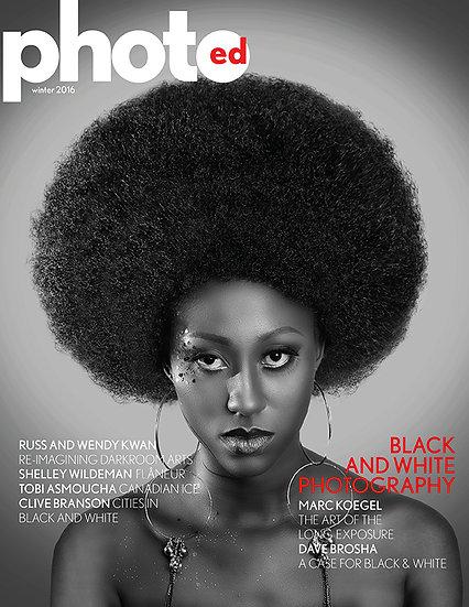 Canada photography magazine, black and white photography