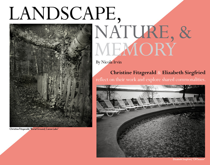 Christine Fitzgerald + Elizabeth Siegfried - Landscape Women in photography