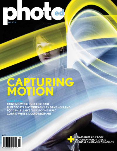 Canada photography magazine, photographing motion
