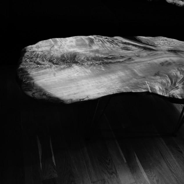Soffbord i Björk