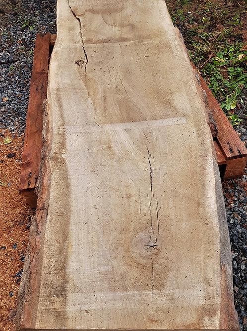 Okantad ek planka (möbeltorr)