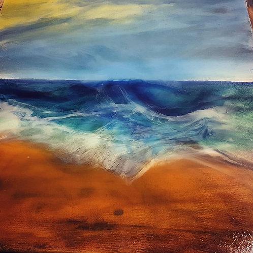 Tavla, psychedelic Beach