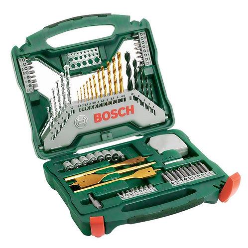 Bosch Borrsats X-line, 70 delar