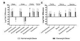A Comparative Study of Serum Biochemistry, Metabolome and Microbiome Parameters of Clinically Healthy, Normal Weight, Overweight, and Obese Companion Dogs