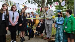 "(UK) Falmouth: Mayor opens ""sensory garden""; ""spaces...for sensory overload"""