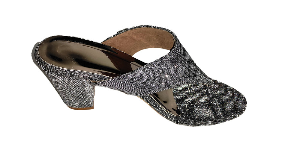 Shiny Party Heel by The Melo Footwear
