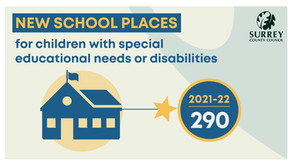 (UK) Surrey: $109M plan to add 1,500 special needs places