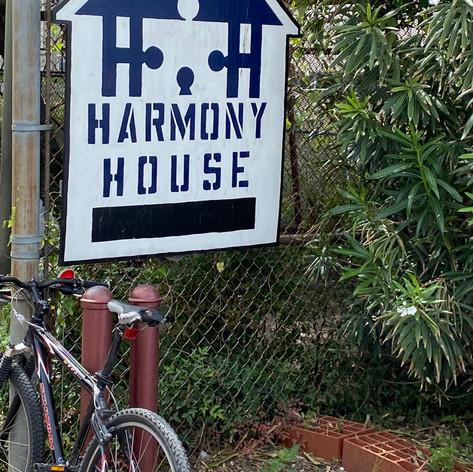 Volunteering at Harmony House