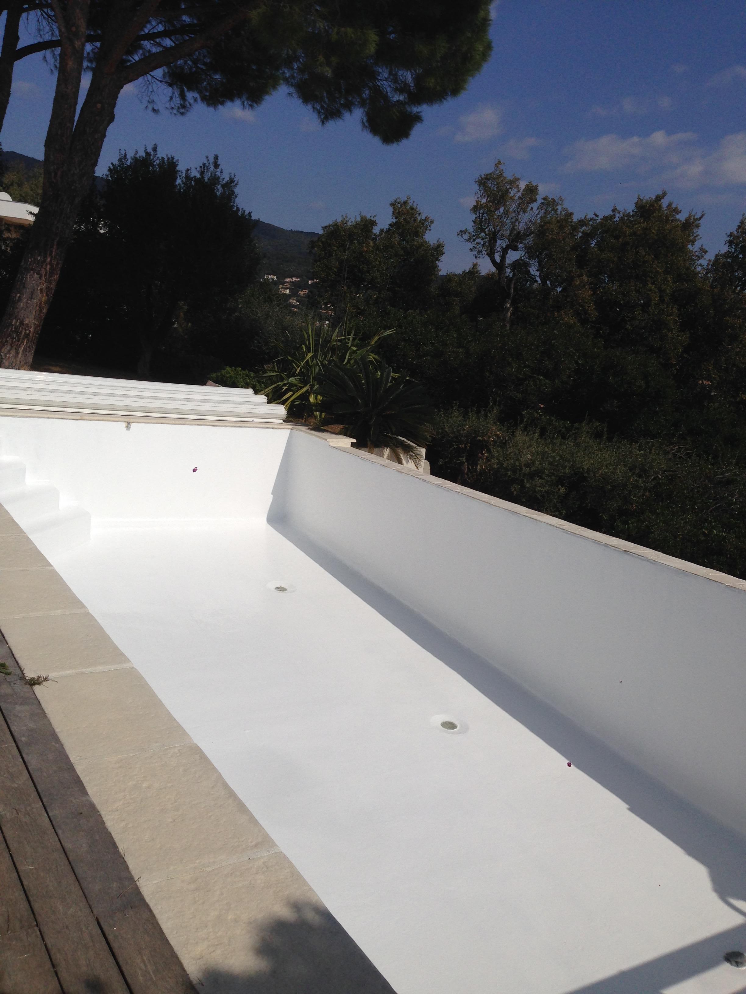 GEL COAT piscine privée 2016
