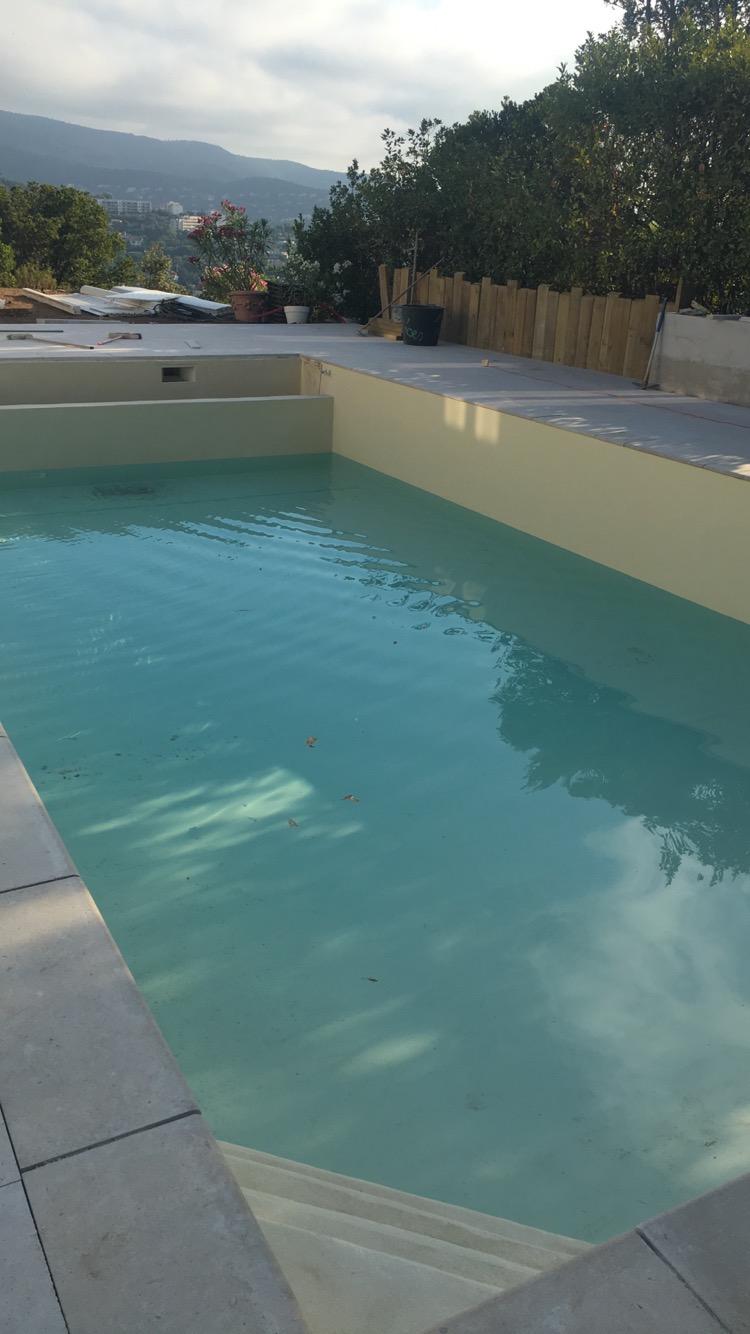 Remplissage bassin