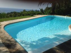 piscine après rénovation