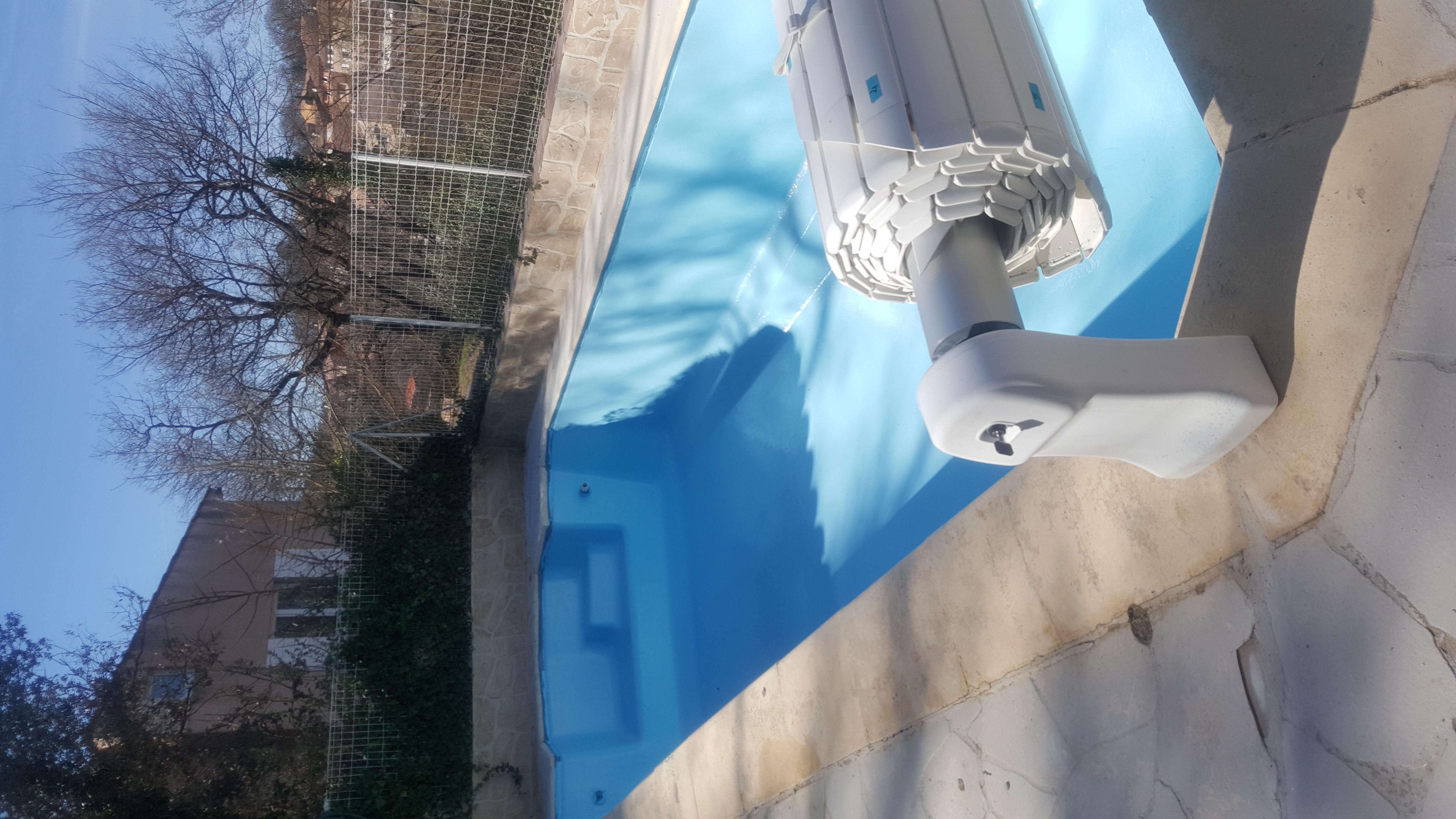 R novation piscine rev tement polyester var - Renovation piscine coque polyester ...