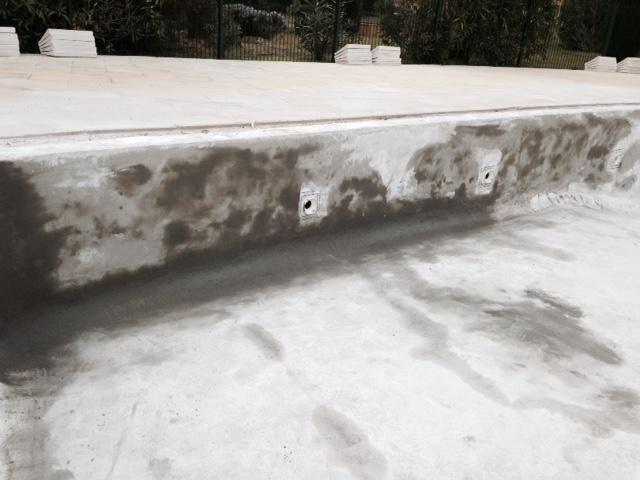 Préparation bassin