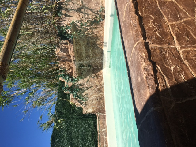 REALISATION piscine club privé