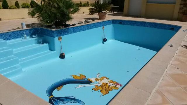 Rénovation piscine privative