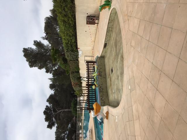 Réalisation piscine camping