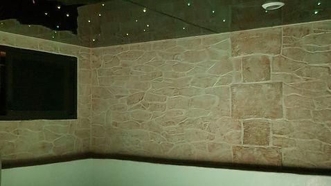 décors fausses pierres Odyssée polymère