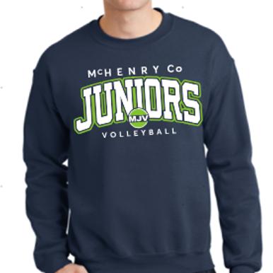 MJV Printed Crew Sweatshirt