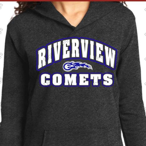 Riverview Ladie Glitter Hooded Sweatshirt
