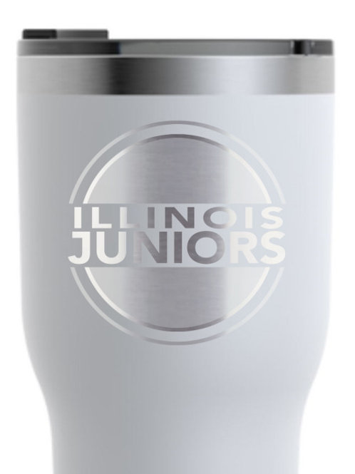 IJV Volleyball 30 oz Insulated Tumbler