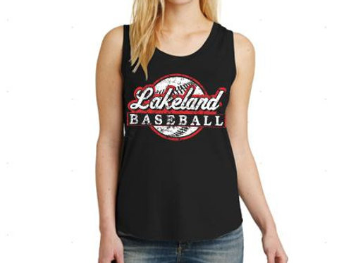 Ladies Next Level Festival Tank Top BBall D2