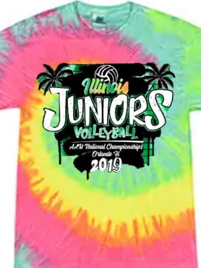 IJV Team Tie Dye T-shirt