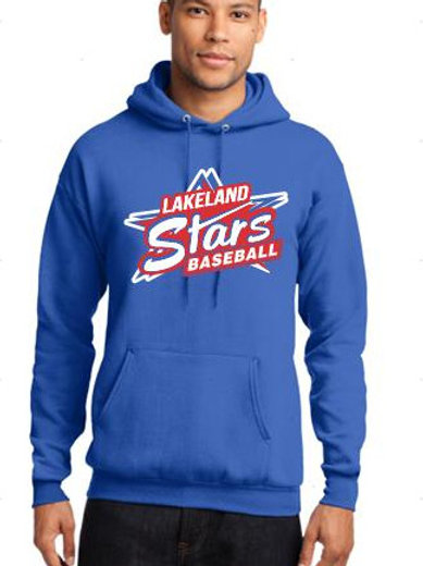 Hooded Sweatshirt Stars Design