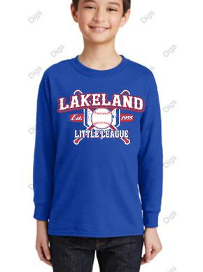 Long Sleeve T-shirt  BBall Design 1
