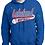 Thumbnail: Hooded Sweatshirt Softball Design