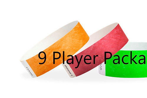 9 Player  Package 1 Day