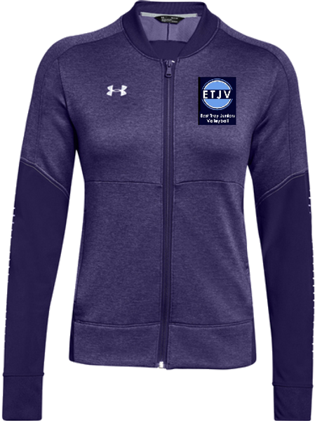 UA W Qualifier Hybrid Jacket