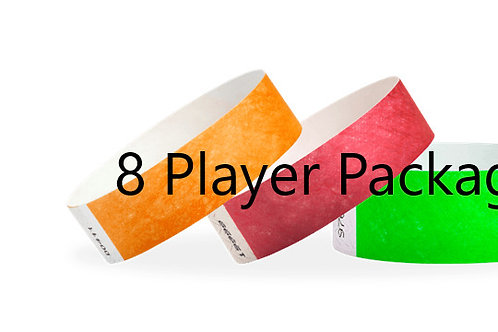 8 Player  Package 2 days