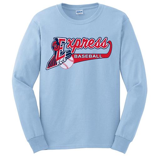 Express Baseball Long Sleeve T