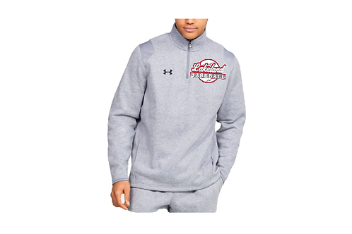 UA Hustle Fleece 1/4 Zip