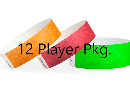 12  Player  Package 2 Days