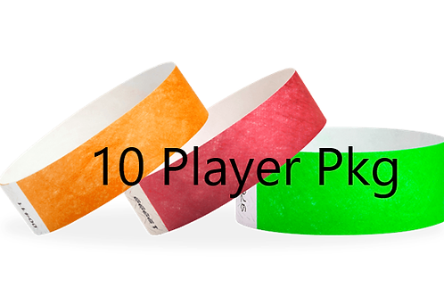10 Player  Package 2 days