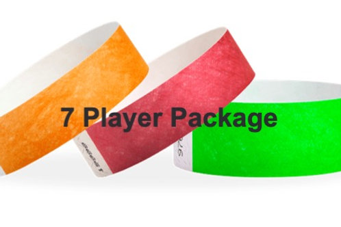 7 Player  Package 2 days