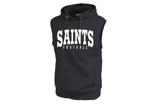 Saints 2 Pennant Sleeveless Hoodie