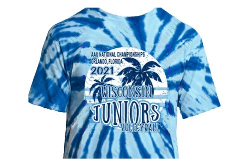 Wisconsin Jrs AAU T-shirts