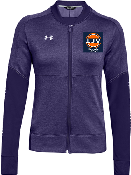 UA Wom Qualifier Hybrid Warm Up Jacket IJV