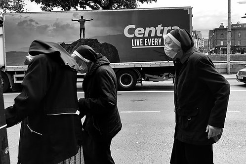 Saviours wear masks