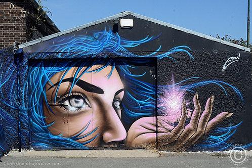 dockland garage graffiti