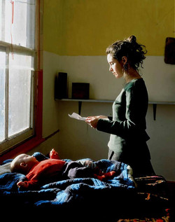 girl reading a possession order