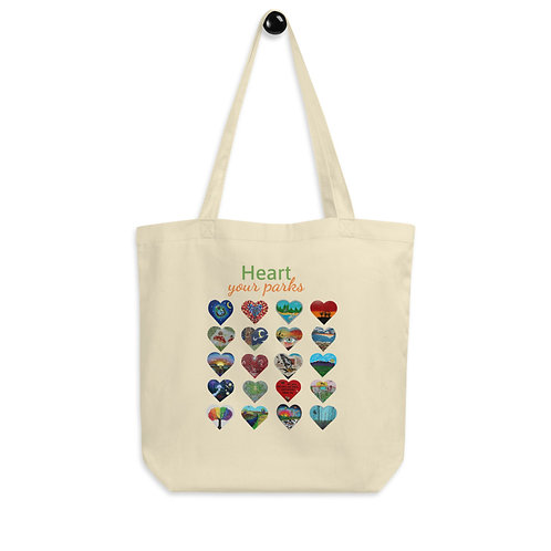 Heart Your Parks - Eco Tote Bag