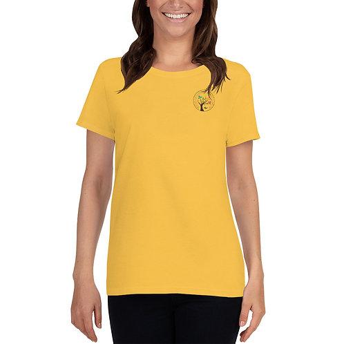 Women's short sleeve t-shirt - Color Logo