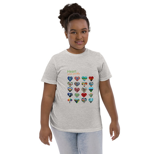 Heart Your Parks - Youth jersey t-shirt