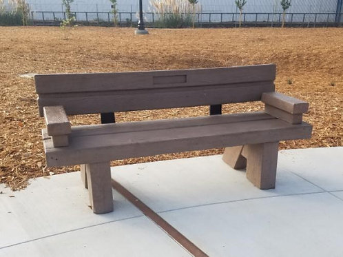 New Bench Sponsorship - On Trail